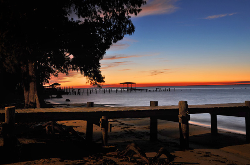 fairhope alabama sunset