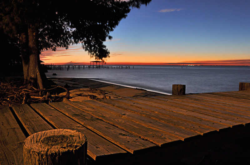 mobile bay sunset fairhope alabama