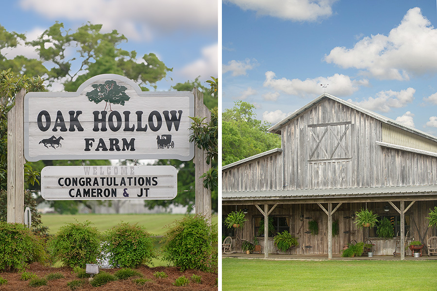 oak hollow farm fairhope alabama wedding