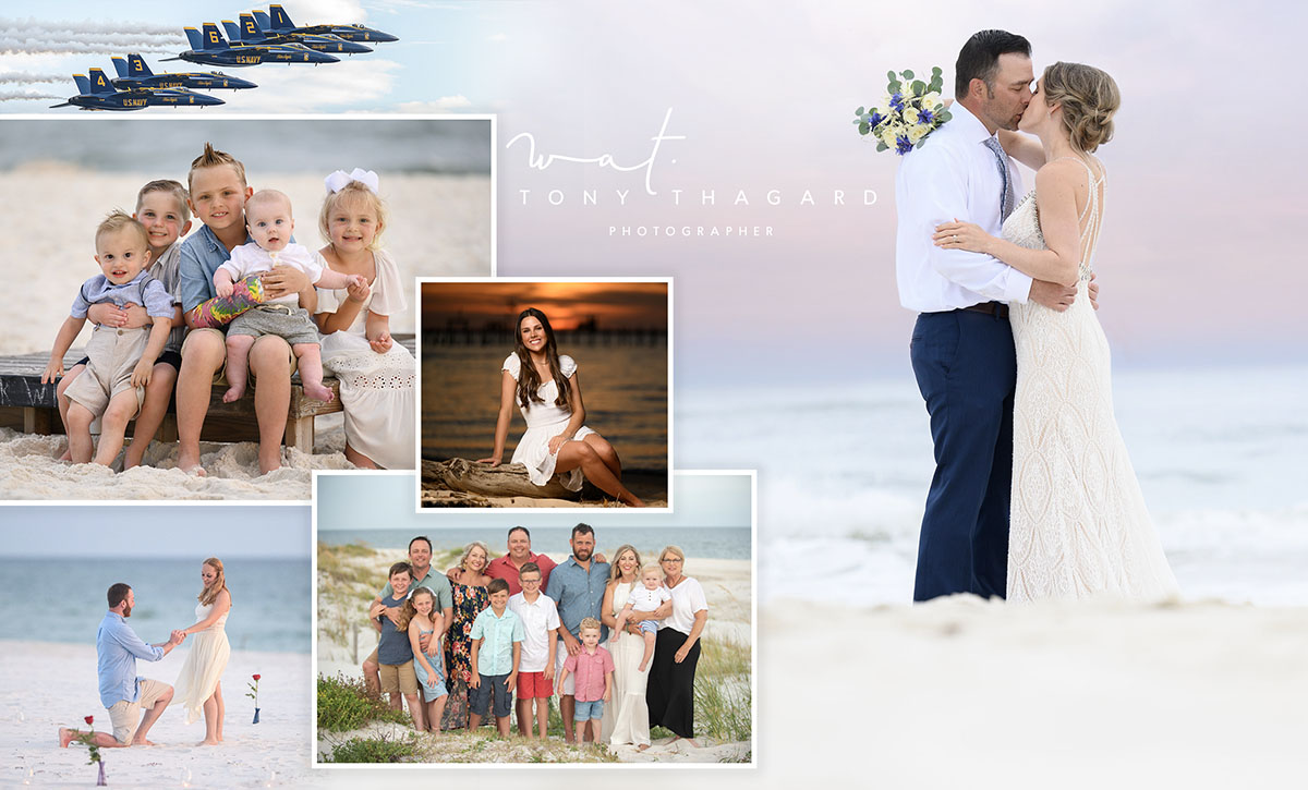 Weddings and Beach Portraits Photography