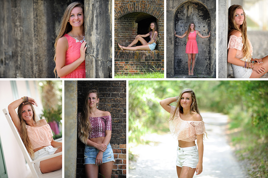 gulf shores senior portrait photographer