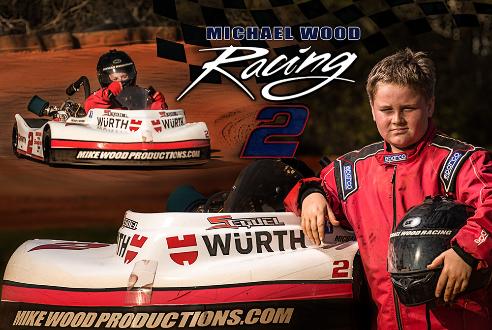 mike wood racing portrait