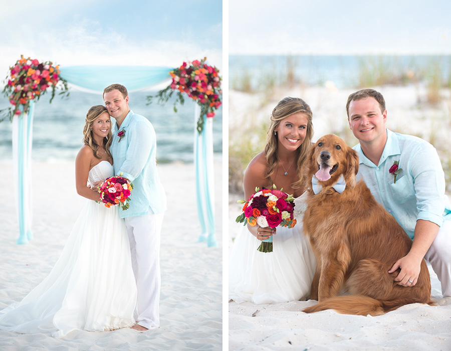 orange beach alabama beach wedding